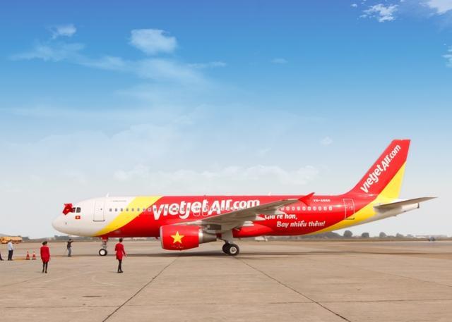 Kết quả hình ảnh cho Vietjet Air bay tới Cam Ranh