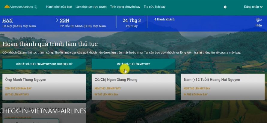 check in online vietnam airlines b4