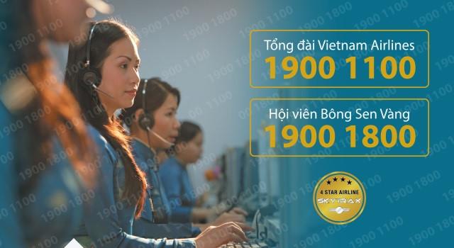 tổng đài vietnam airline